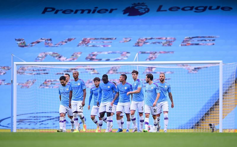 Manchester City will be looking to bounce back from their FA Cup defeat against Arsenal