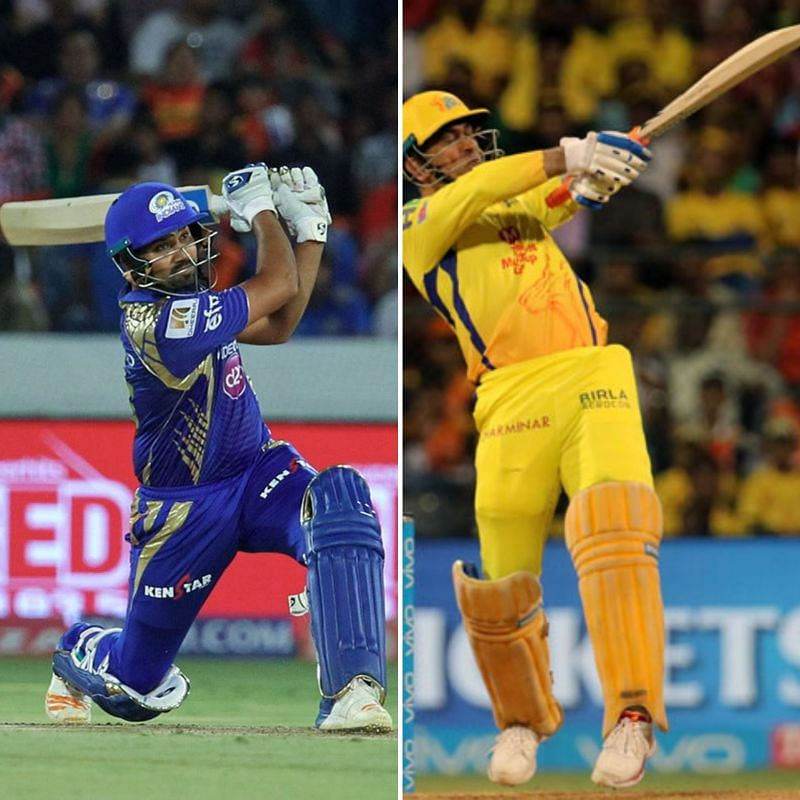 Rohit Sharma and MS Dhoni are two of the most feared hard-hitters in the IPL.