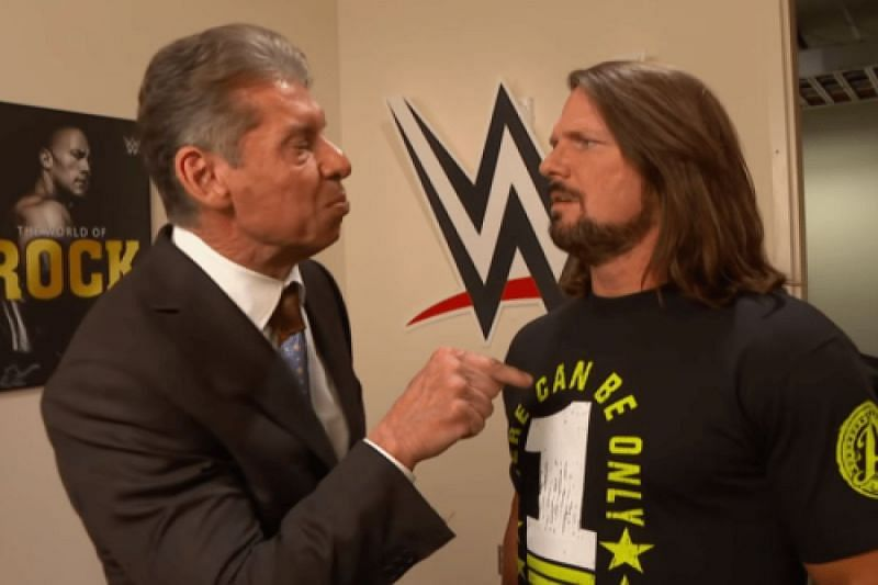 AJ Styles attacks WWE owner Vince McMahon backstage on SmackDown