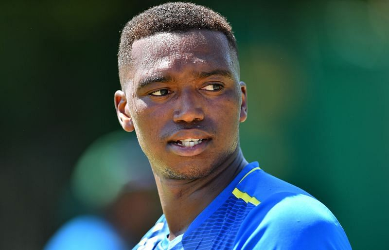Lungi Ngidi believes that using a damp towel is a good idea to shine the ball.