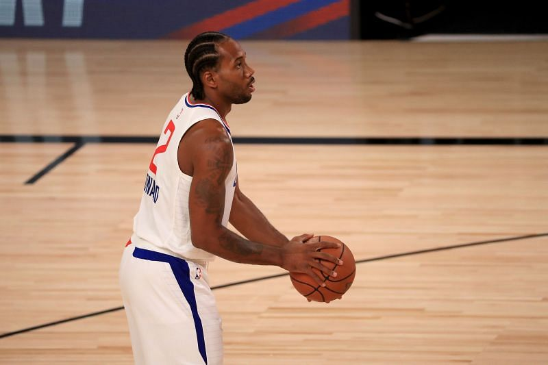 Kawhi Leonard started slowly but finally managed to bring the LA Clippers back into the game