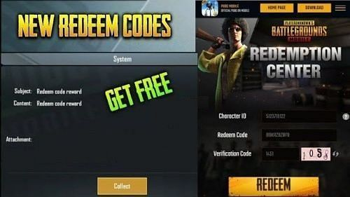 PUBG Mobile latest Redeem Codes July 2020 (Image Credits: Tech Tube)