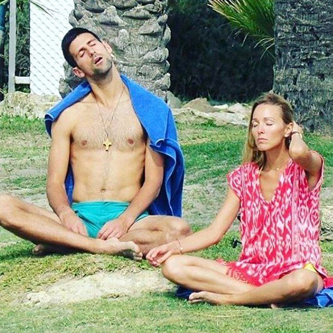 Diet, Yoga, Love is Novak Djokovic