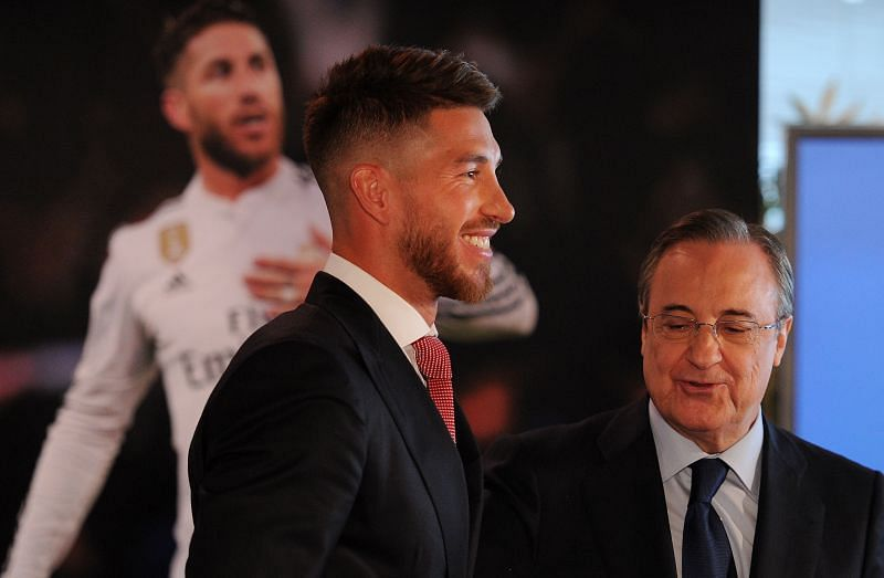 Sergio Ramos and Perez have worked well together