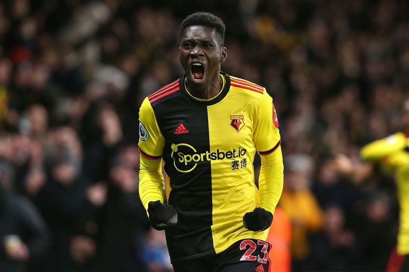 Sarr famously punctured Liverpool