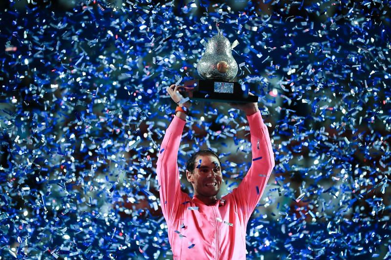 Rafael Nadal won the Mexican Open in February 2020