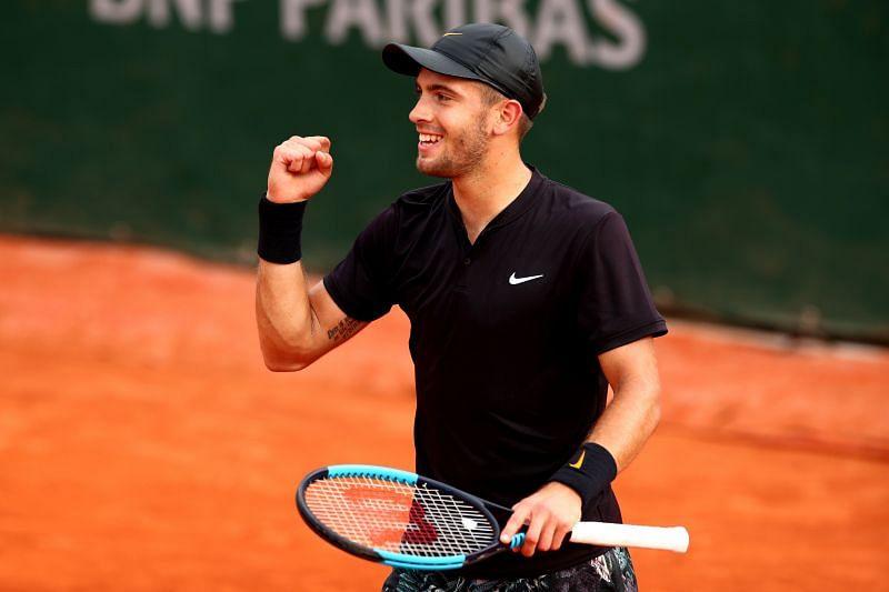 Borna Coric at French Open 2019