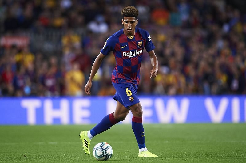 Barcelona centre-back Jean-Clair Todibo has been linked with Paris Saint-Germain