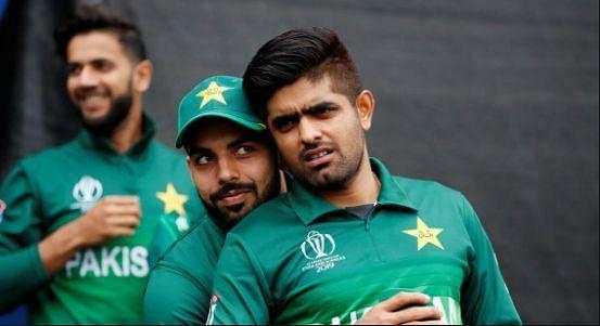 पाकिस्तानी टीम के खिलाड़ी