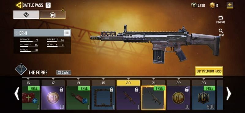Dr H Gun In Cod Mobile All You Need To Know