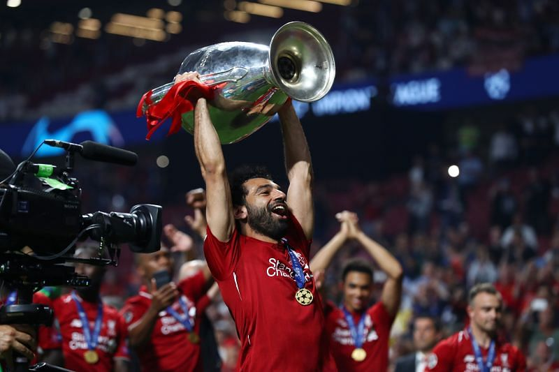 Mo Salah helped Liverpool lift their sixth Champions League title