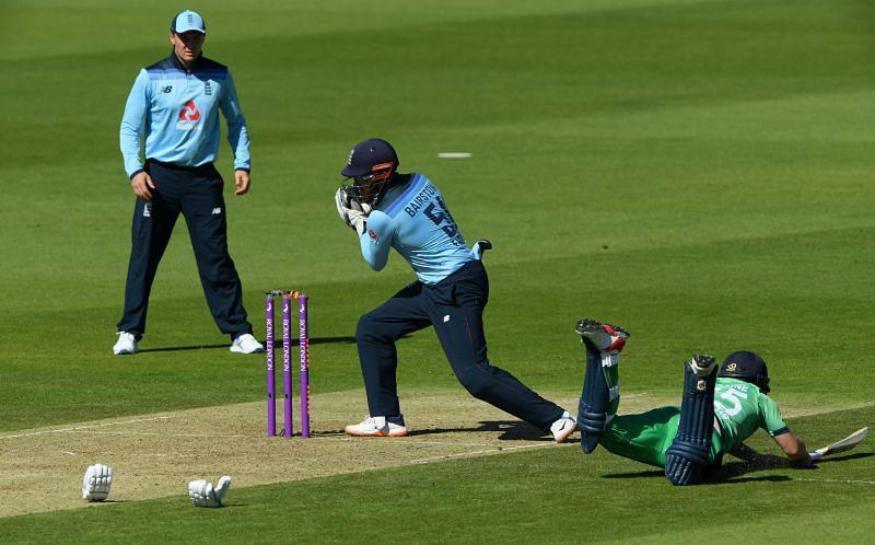 Ireland batsmen were a bundle of nerves in the middle.