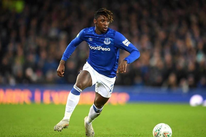 The 19-year old Moise Kean struck only twice to show for Everton