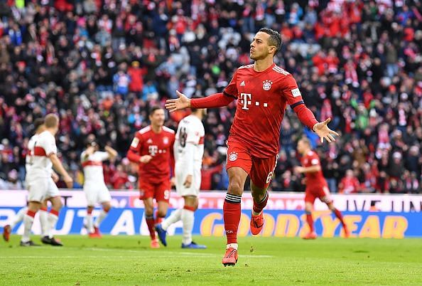 Bayern Munich star Thiago is set to depart from Germany this summer