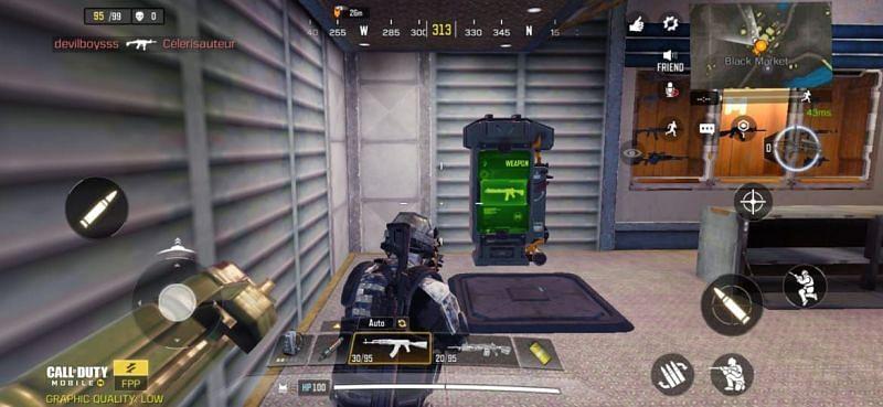 Guns vending machine