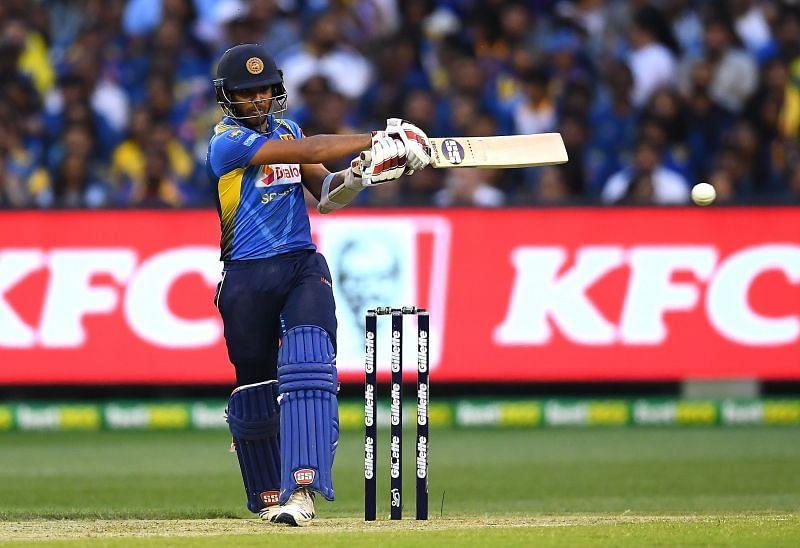 Sri Lankan batsman Kusal Mendis.