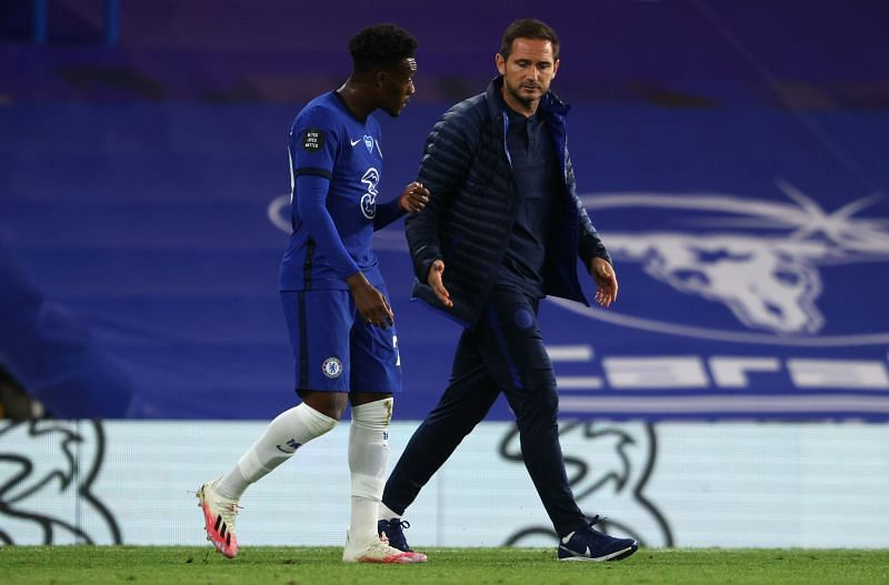 Callum Hudson-Odoi has been on the fringes of the Chelsea squad