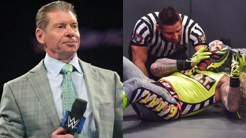 WWE Chairman Vince McMahon reportedly changed the ending of the match between Rollins and Mysterio