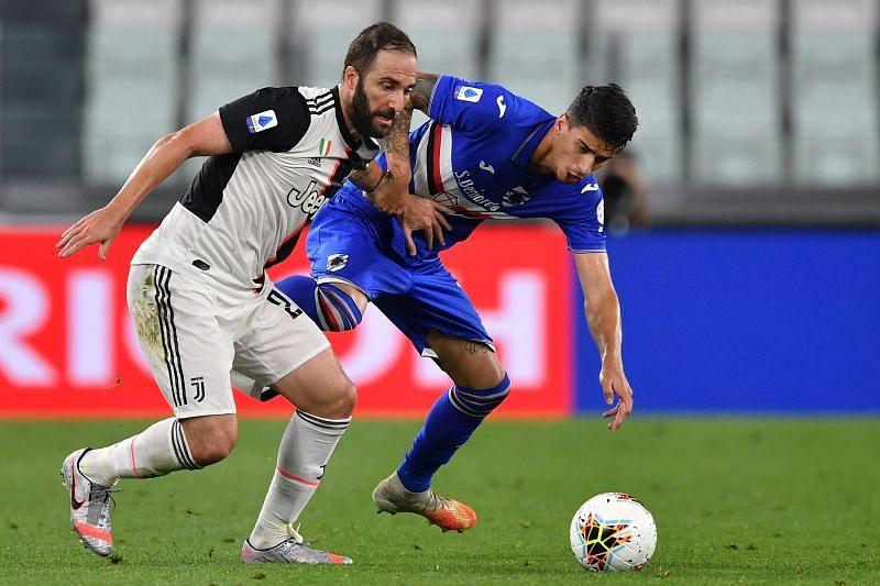Juventus won the Serie A against Sampdoria