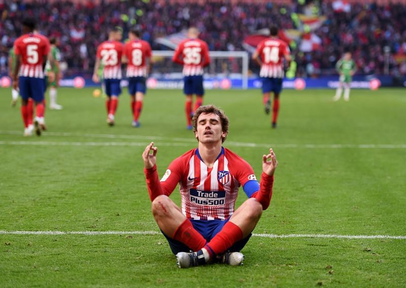 Antoine Griezmann was sensational for Atletico Madrid during his time at the club.