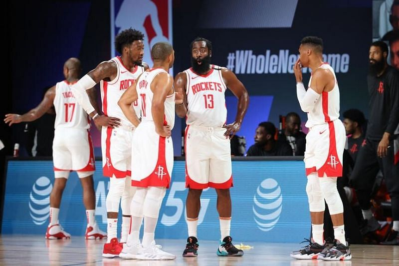The Houston Rockets are thriving in Orlando