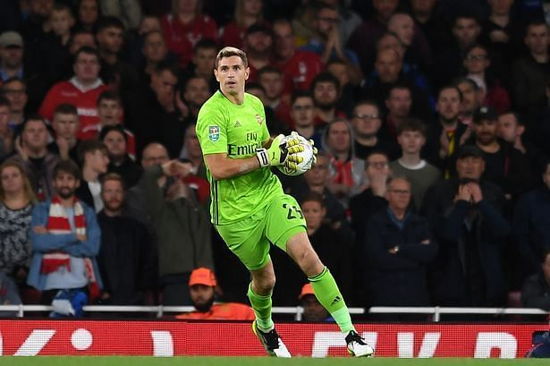 Emiliano Martinez has done a decent job for Arsenal this season.