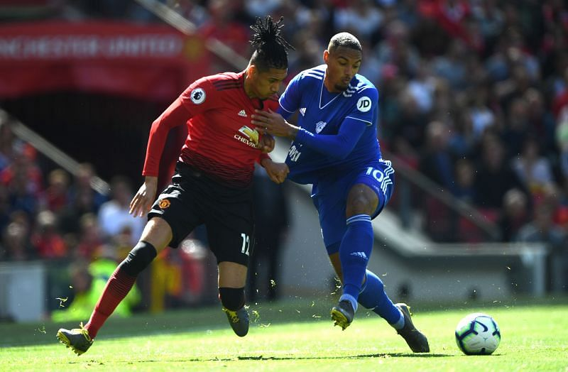 Chris Smalling has won two Premier League titles with Manchester United