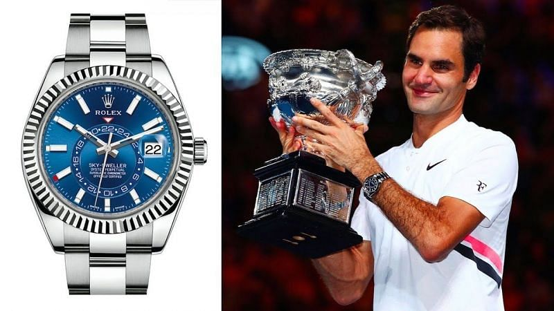 Roger Federer has advertised for Rolex watches since 2011