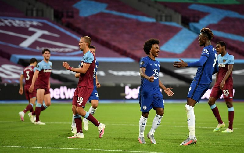 West Ham United established a 3-2 victory over Chelsea on Wednesday evening