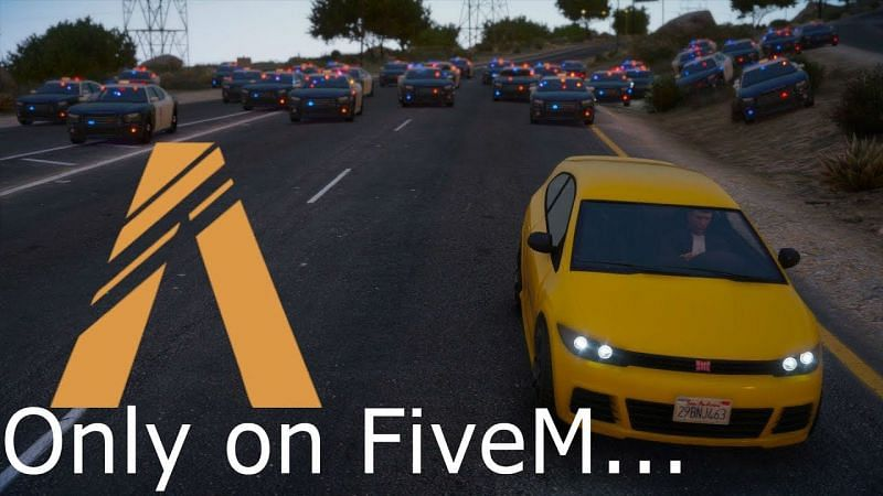 Play GTA 5 RP on FiveM. Image: YouTube.