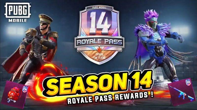 Season 14 Rewards List (Image Credits: LuckyMan)