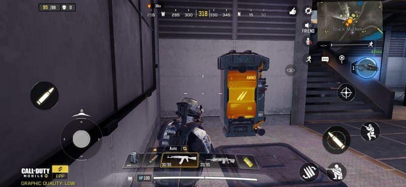 Ammo vending machine