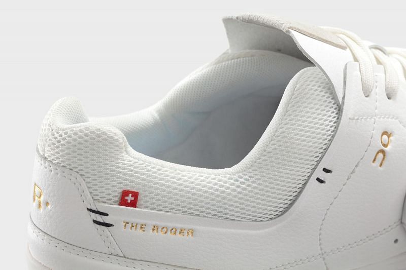 Roger Federer has his name imprinted on all 1000 pairs