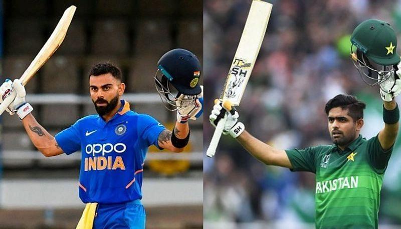 Babar Azam and Virat Kohli ~ Credits Asia Net News