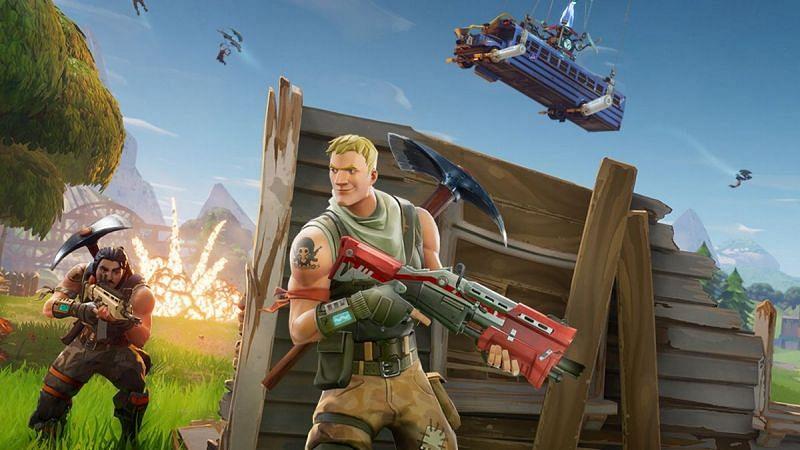 Shotguns in Fortnite (Image Credit: Epic Games)