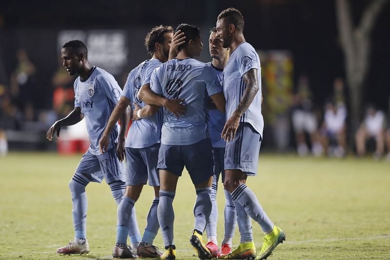 Sporting KC are on a high after their comeback win against Colorado