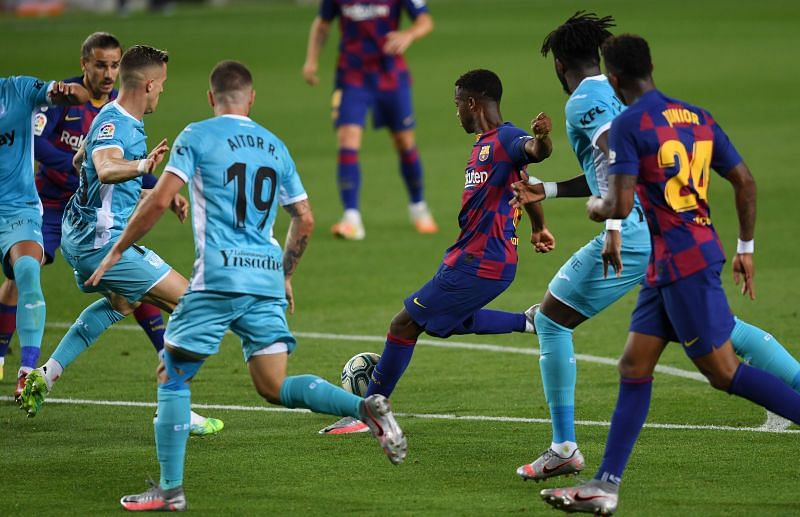 Ansu Fati has been sensational for Barcelona
