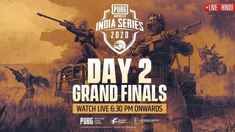 PMIS 2020 Grand Finals Day 2 schedule