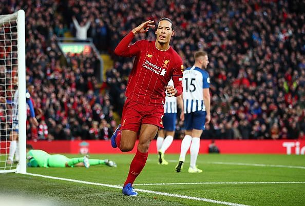Virgil van Dijk was an ever-present for Liverpool in the Premier League