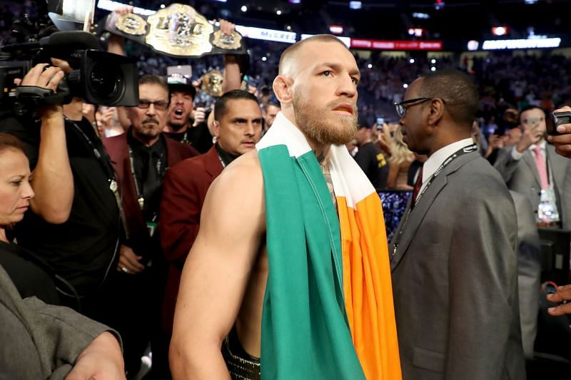 Conor McGregor finds himself in the strangest of position in his UFC career.