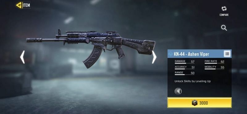 Players can purchase this weapon for 3000 credits