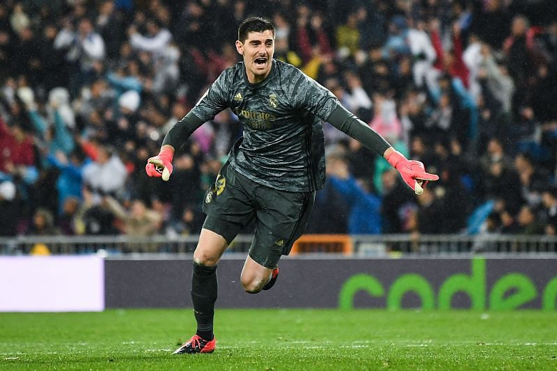 Thibaut Courtois has kept 18 clean sheets for Real Madrid this season