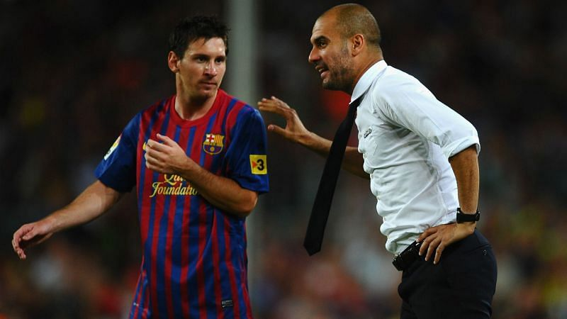 Lionel Messi has been repeatedly touted to reunite with Pep Guardiola at Manchester City