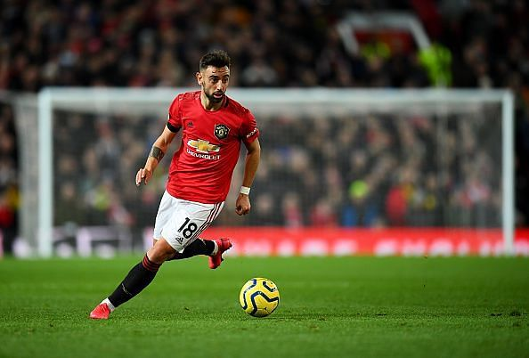 Bruno Fernandes took the Premier League by storm since joining Manchester United in January
