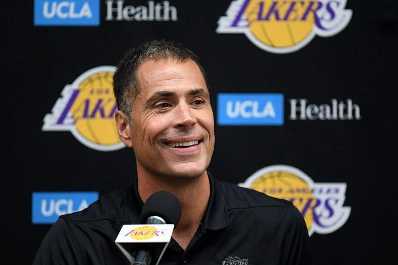 LA Lakers GM Rob Pelinka