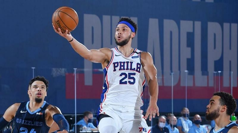 It was another all-round display from Ben Simmons on Day 3 of NBA scrimmages