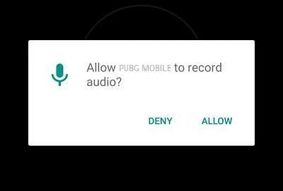 Permission option
