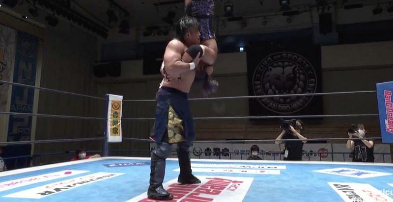 NJPW New Japan Cup 2020 Goto vs Evil