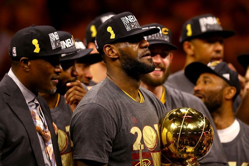 LeBron James delivered a major championship to the city of Cleveland for the first time in 52 years