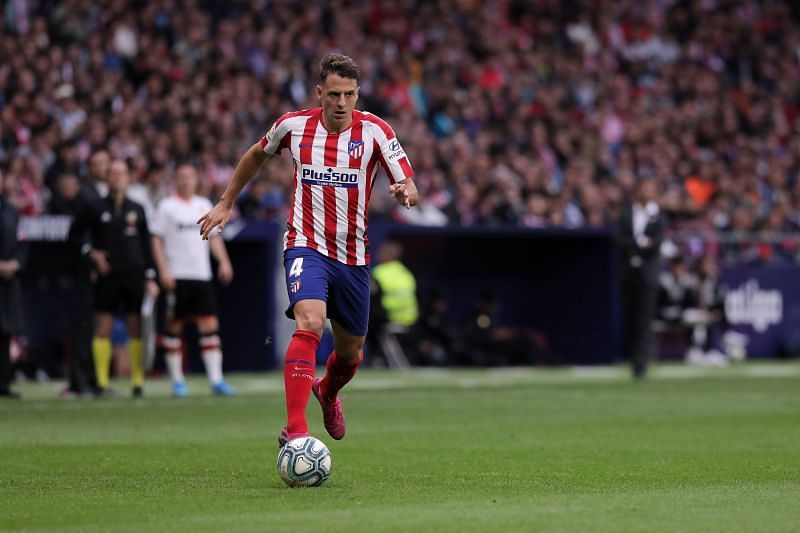 Arias in action for Atletico Madrid